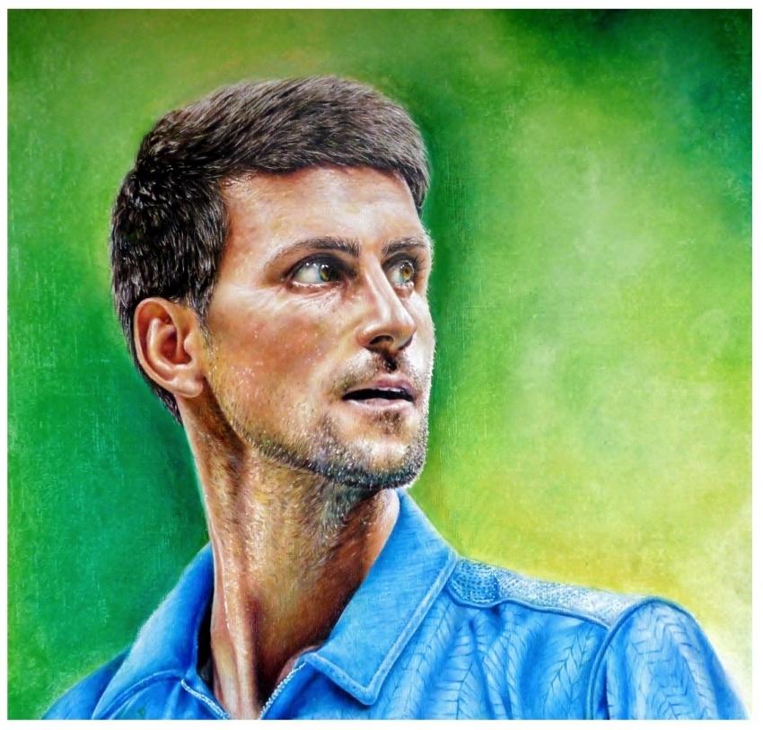 Novak Djokovic by Cymbidium